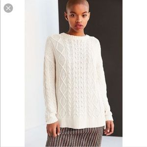 BDG Cable Knit Sweater